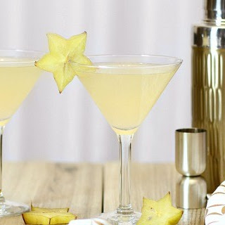 Ginger Spiced Lemon Cocktail.