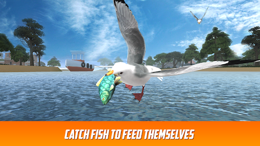 Seagull: Sea Bird Simulator 3D screenshot 1