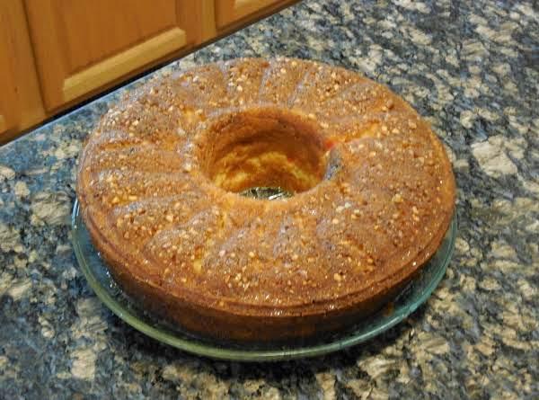 Mom's Rum Cake Recipe