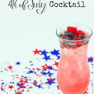 Star Spangled Tito's Cocktail.