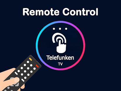 Remote control for telefunken tv - náhled