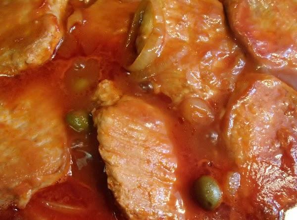 Spanish Pork Chops Recipe