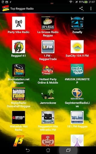 Top Reggae Radio