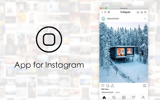 App for Instagram with Direct