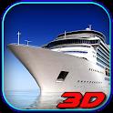 Big Cruise Cargo Ship Sim icon