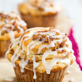 Apple Cinnamon Roll Muffins.