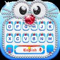 Blue Cat Diamond Keyboard icon