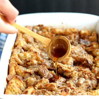Easy Baked French Toast Casserole.