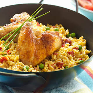 Baked Chicken With Yellow Rice Recipes.