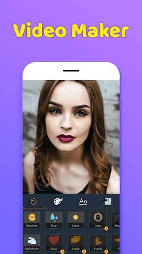 Photo Video Maker With Music-Movie Maker 1.0 screenshots 1