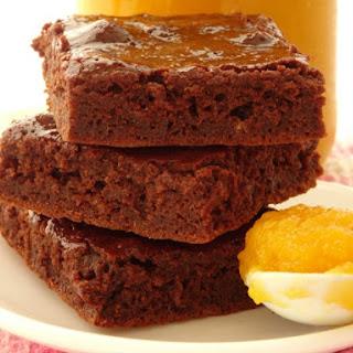 One-Bowl Healthy Pumpkin Brownies.