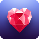 Bloomy: Dating Messenger App icon