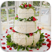 Tile Puzzle Wedding Cake