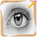 How to Draw Eyes icon