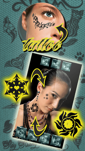 Tattoo my Photo Editor