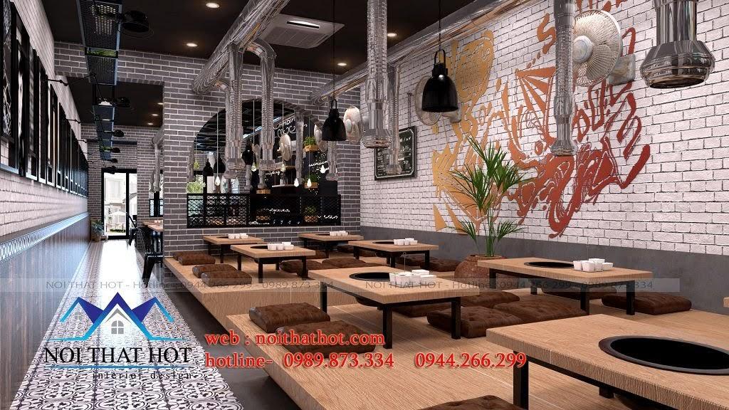 thiết kế nhà hàng lạ mắt