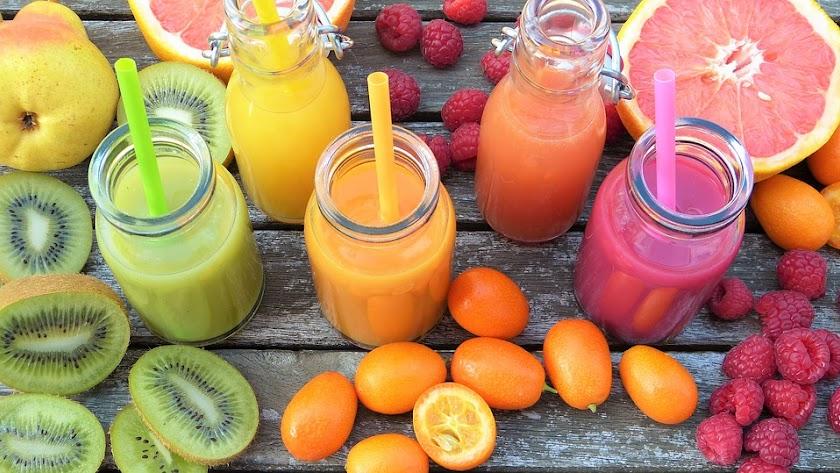 La dieta detox se basa fundamentalmente en preparados de fruta y verduras.