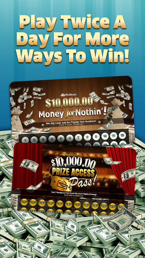 how to win cash with pch