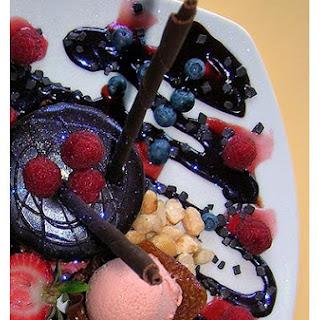 Blackberry Chocolate Cake.