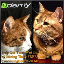 Photo: Mr. Tom and Mr. Charlie join forces to win the Udemy Affiliate Contest! #intercer #cat #cats #education #udemy #pet #pets #beautiful #pretty #sweet #continuingeducation #learn #petsofinstagram #school #teach #teach2013 #college #student #affiliate #deal #sale #book #team #win - via Instagram, http://instagram.com/p/ZL3E8YJfmA/
