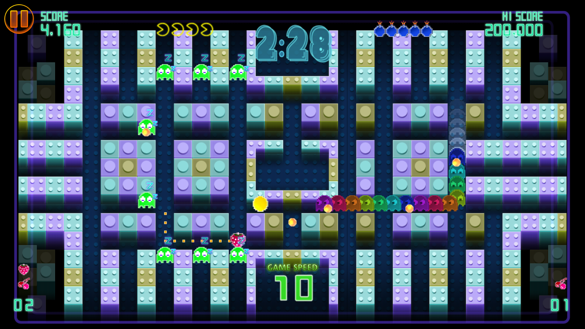PAC-MAN CE DX screenshot #5