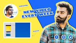 Mustache Weekly - YouTube Outro item