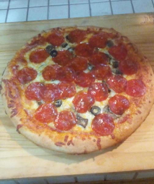 Home-made Pizza Crust In Cast Iron Recipe