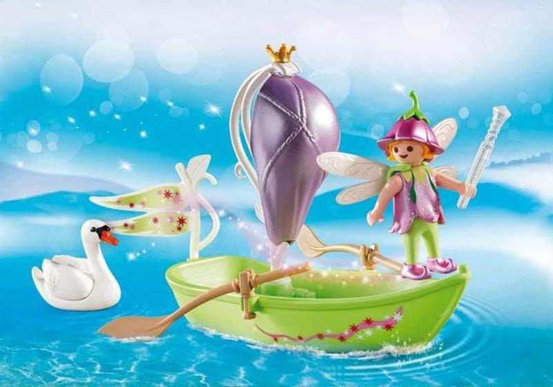 Contenido real de Playmobil® 9105 Maletín Barco de Hadas