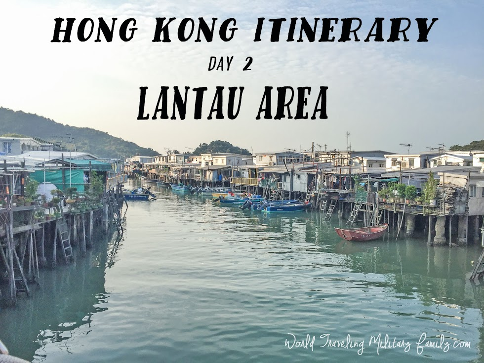 Hong Kong Itinerary Day 2 - Lantau area