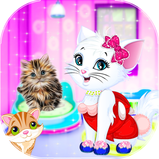 Kitty Care - Cat pet care Salon & Grooming (game)