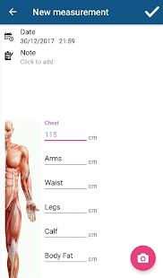 Tracker - Gym Log & Body Measurements - náhled