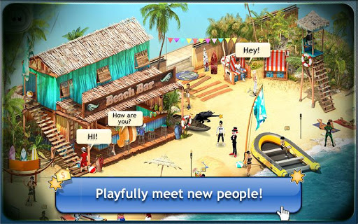 Smeet 3D Social Game Chat screenshots 1