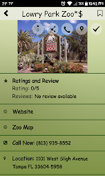 Zoo Finder APK screenshot thumbnail 11