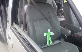 Photo: This is Flat Jed. Notice the goatee and the knee high boots.