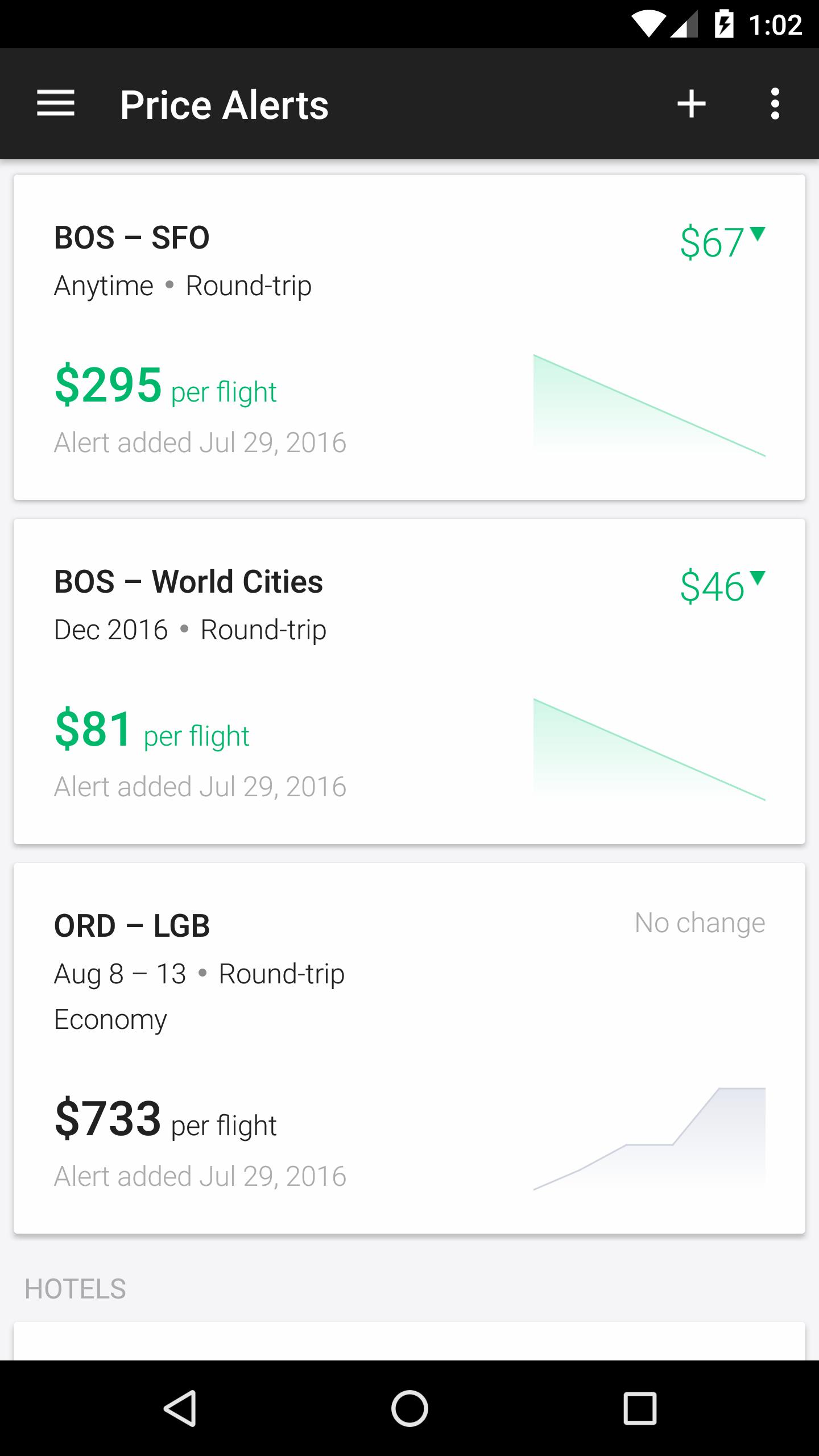 KAYAK Flights, Hotels & Cars screenshot #7