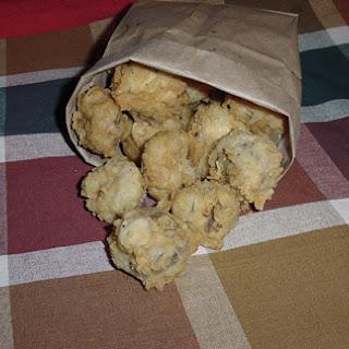 Fat Ronnie's Deep Fried Fresh Mushrooms.