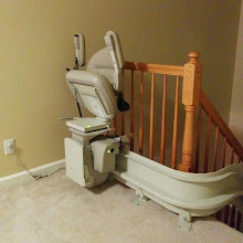 Photo: Curved Stairlift Egg Harbor