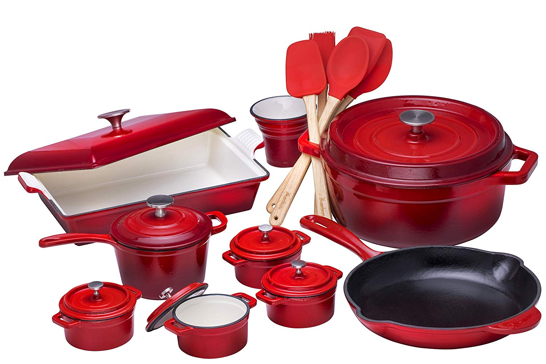 A cast iron cookware set can be a great summer gift ideas