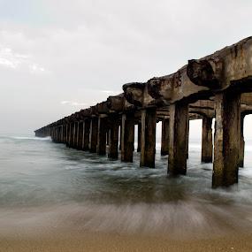 Thalankuppam Pier by Saravanakumar Thangavelu - Buildings & Architecture Bridges & Suspended Structures