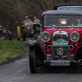 Catch me if you can by Andrew Lancaster - Transportation Automobiles ( cars, wheels, classic, beauty, race, vintage, flying, transport, vehical, rally, lights, scotsman,  )