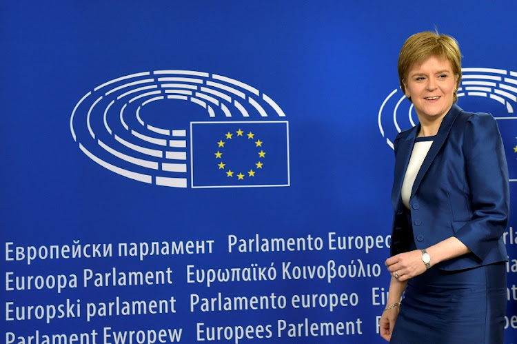 Scotland's First Minister Nicola Sturgeon arrives for a meeting at the European Parliament in Brussels, Belgium on Wednesday. Picture: REUTERS/ERIC VIDA