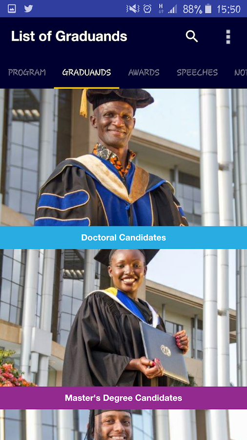 USIU-Africa Commencement 2016- screenshot