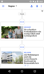 az Limmattaler Zeitung News screenshot 2