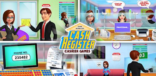 Bank Manager Cash Register – Cashier Games for PC