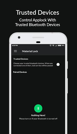 Materiale Applock - Blocca schermate App, PIN e Pattern Lock 6