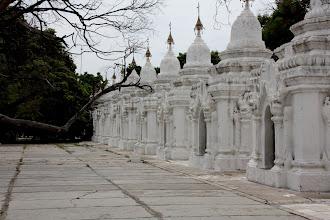Photo: Year 2 Day 55 -   Some of the Stupas at Kuthodaw Paya