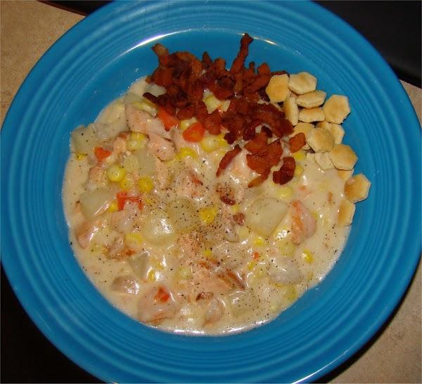 Fresh Corn And Seafood Chowder Recipe