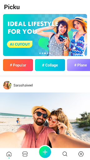 PickU - Cutout & Photo Editor 1.0.0 screenshots 1