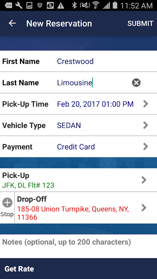 Crestwood Car and Limo Service- screenshot