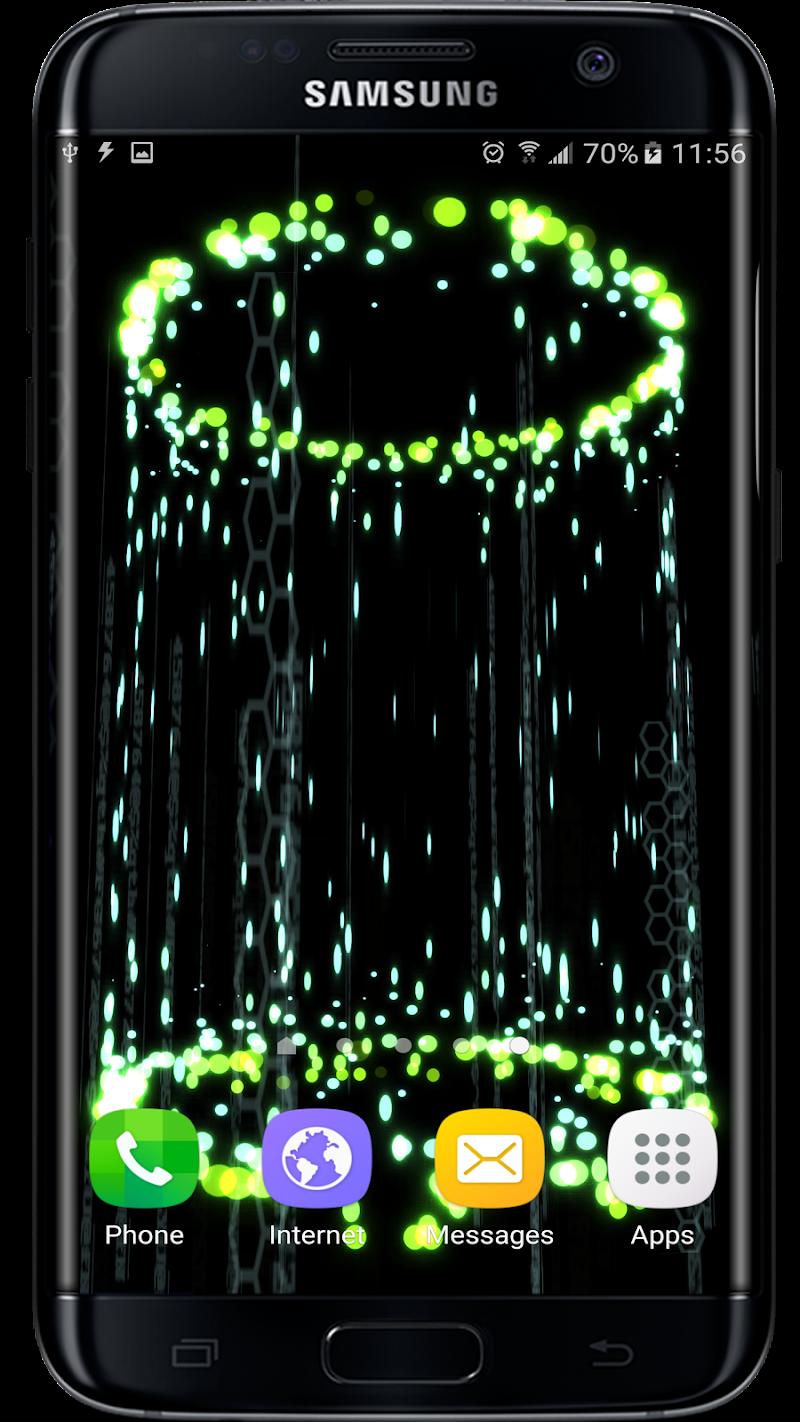 Abstract Particles Wallpaper Screenshot 3